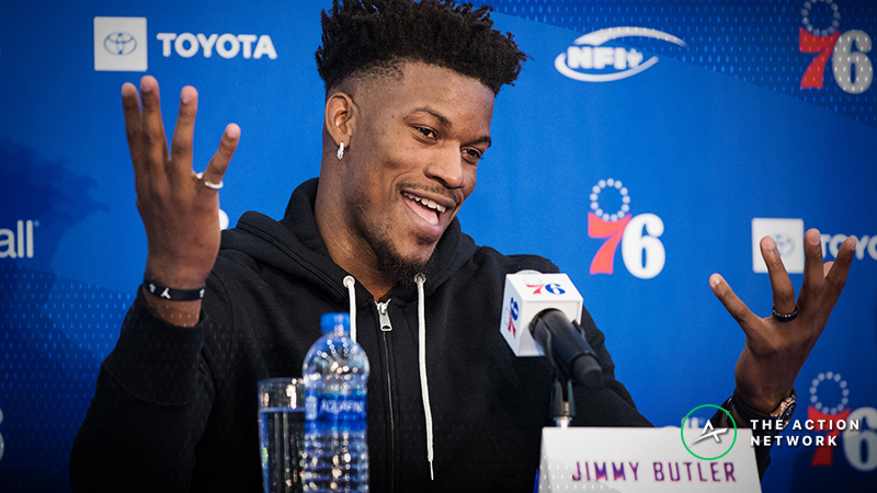 4 Things to Watch in Jimmy Butler's 76ers Debut: How Ben Simmons Needs to Adjust article feature image