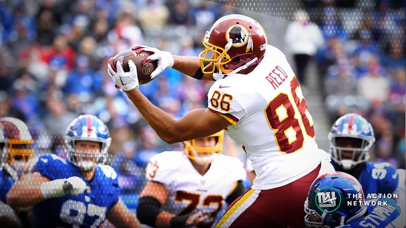 NFL Week 10 Fantasy TE Breakdown: Bet on Jordan Reed vs. Buccaneers article feature image