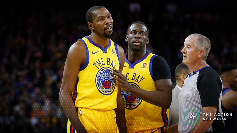 Moore: What the Draymond Green-Kevin Durant Drama Does — and Doesn't — Mean for the Warriors article feature image
