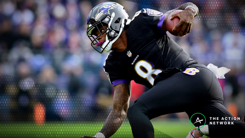 Should You Start Lamar Jackson in Fantasy vs. the Raiders? article feature image
