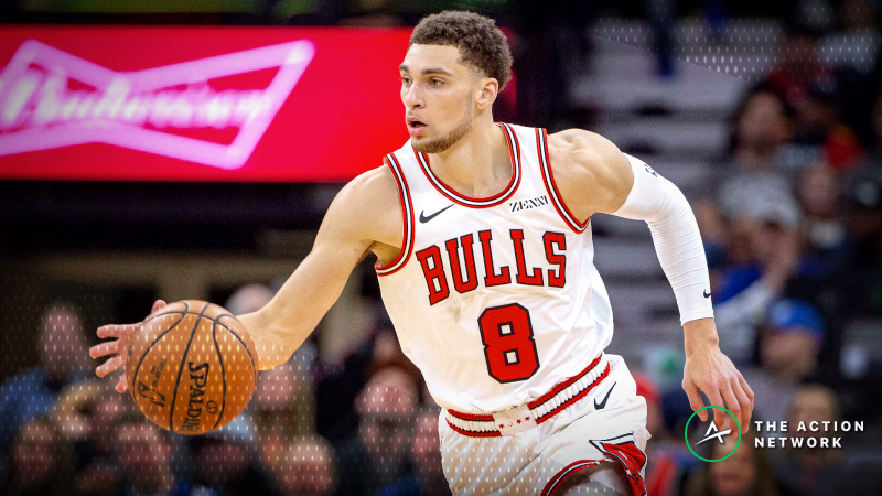 NBA Sharp Report: Pros Eyeing Two Monday Night Over/Unders article feature image