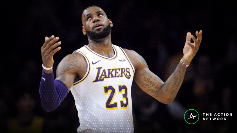 Moore: LeBron and the Lakers Don't Have Enough Firepower to Cover +9 article feature image