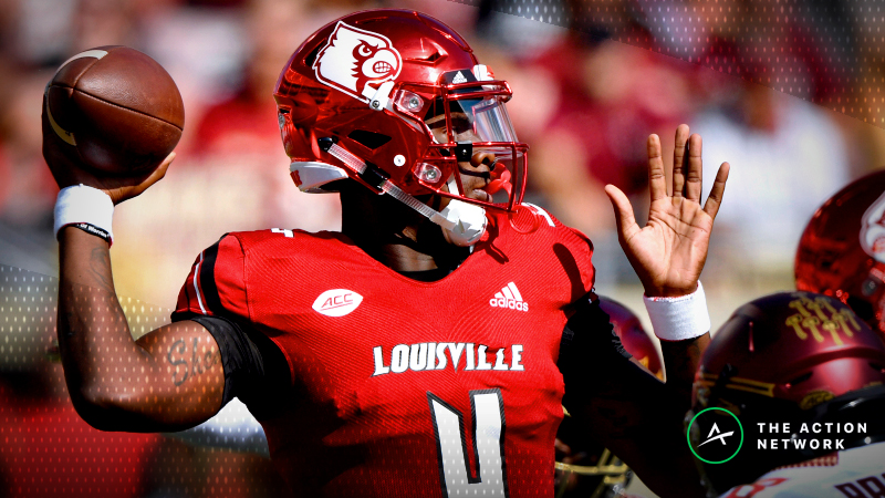 College Football Sharp Report: Pros Hitting Kentucky-Louisville, 4 Other Saturday Games article feature image