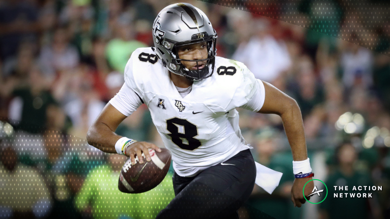 Bettors Fading UCF for First Time This Year After McKenzie Milton Injury article feature image