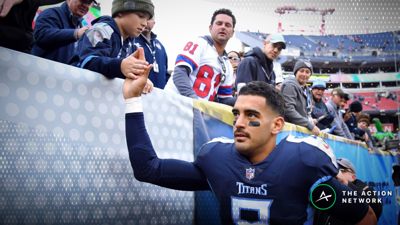 Sharp Money Moving Titans-Texans Monday Night Football Betting Line article feature image