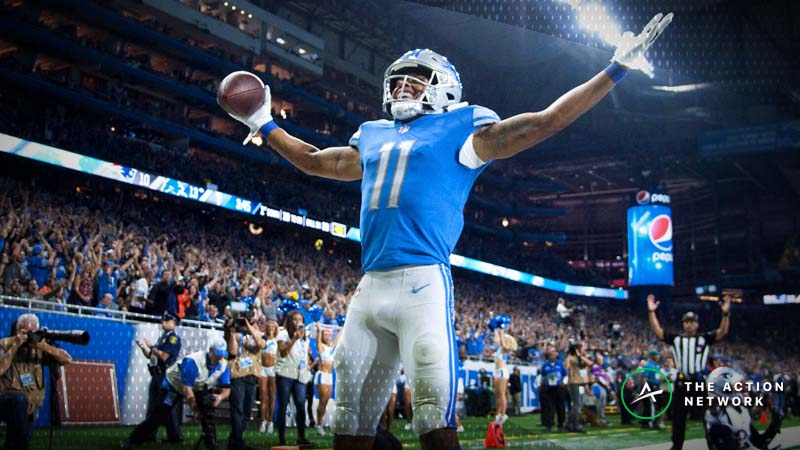 Best Week 9 NFL Player Props: Marvin Jones Should Dominate for Detroit, More article feature image