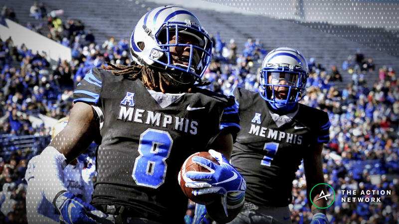 Friday College Football Betting: Odds, Analysis for Memphis-SMU, Boise State-New Mexico article feature image
