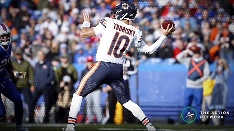 Lions-Bears Betting Preview: Weather Will Play a Factor in Chicago article feature image