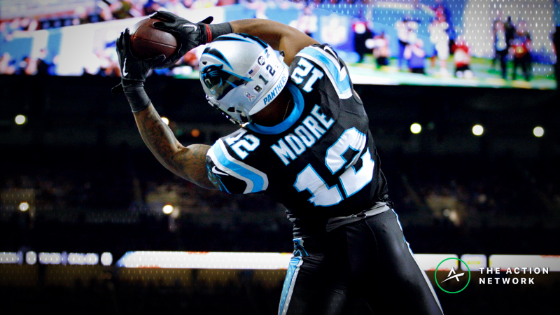 NFL Funnel Defense Ratings: Panthers' D.J. Moore Primed to Continue Breakout article feature image
