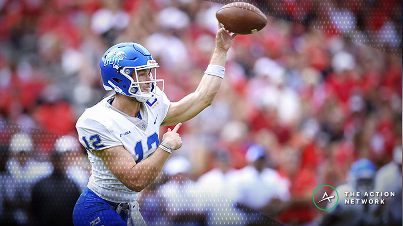 Sharps Betting Friday's Western Kentucky-Middle Tennessee State Over/Under article feature image