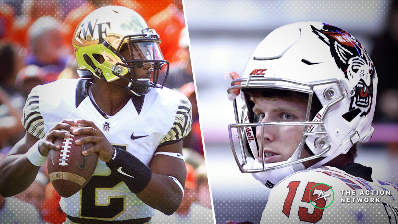 Wake Forest-N.C. State Betting Preview: Quarterback Disparity Could Make the Difference article feature image