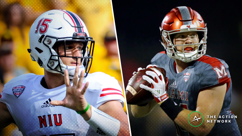 Miami Ohio-Northern Illinois Betting Preview: What Do Huskies Have to Play For? article feature image