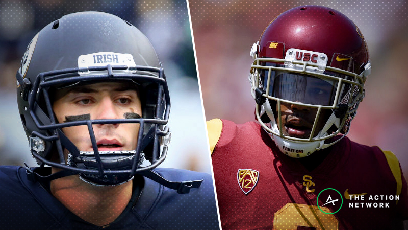 Notre Dame-USC Betting Guide: Irish Poised to Keep Rolling article feature image