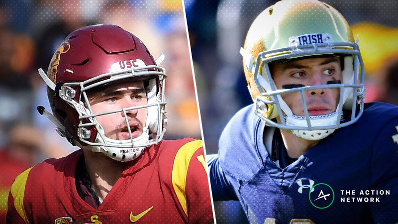 Notre Dame-USC Betting Odds: Opening Line for Irish's Last Playoff Hurdle article feature image