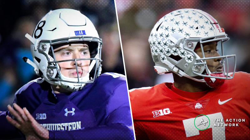 2018 Big Ten Championship Odds: Tracking Ohio State-Northwestern Betting Line Moves article feature image