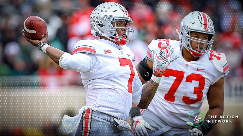 Windy Forecast Moving Michigan-Ohio State Over/Under article feature image