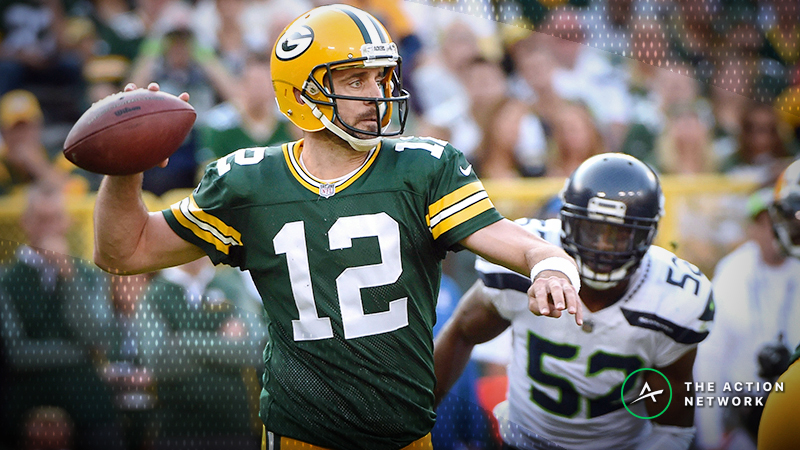 Packers-Seahawks Betting Odds: Tracking Line Moves Until Game Time article feature image
