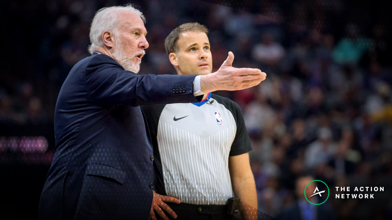 Pros Getting Down on Thursday's Spurs-Clippers Over/Under article feature image
