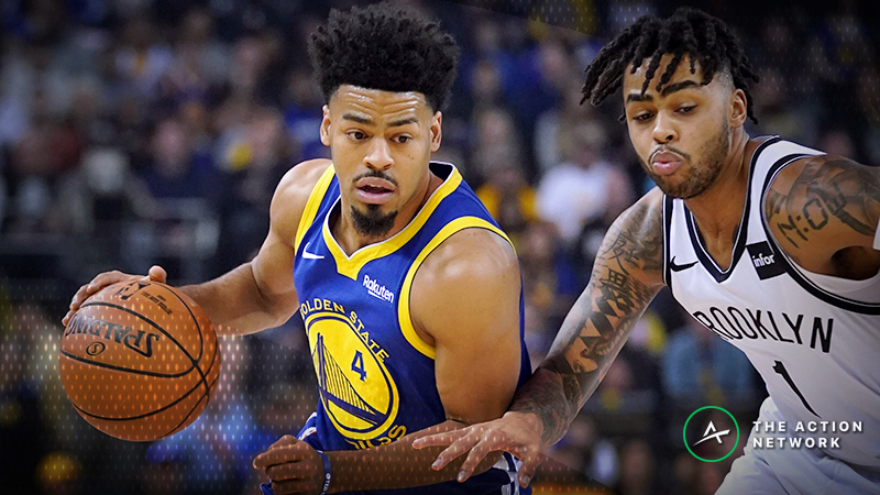 Monday's Best NBA Player Props: Betting Quinn Cook Points, More article feature image