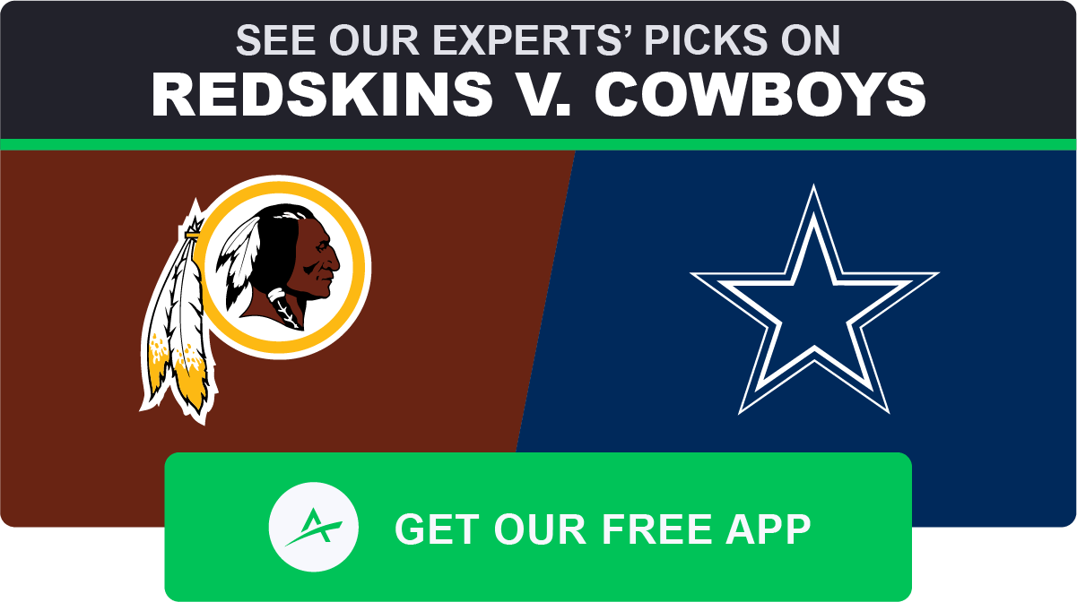 Dallas redskins betting line meaning of over 2.5 goals in betting what does minus