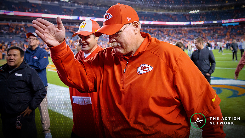 Chiefs-Raiders Odds: KC Opens as Largest Road Favorite Since 2007 article feature image