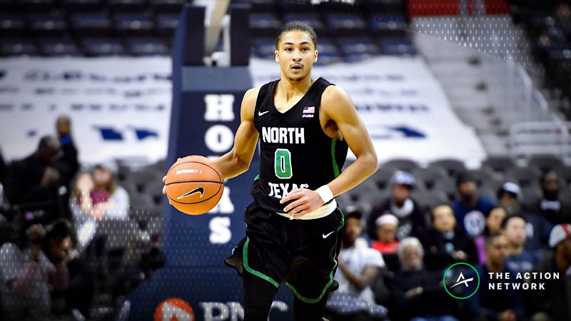 Sharps Piling on Sunday's North Texas-Hawaii College Basketball Matchup article feature image