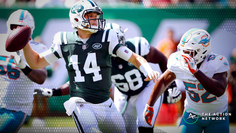 Zylbert's NFL Over/Unders: Will Another AFC East Divisional Clash Go Under the Total? article feature image