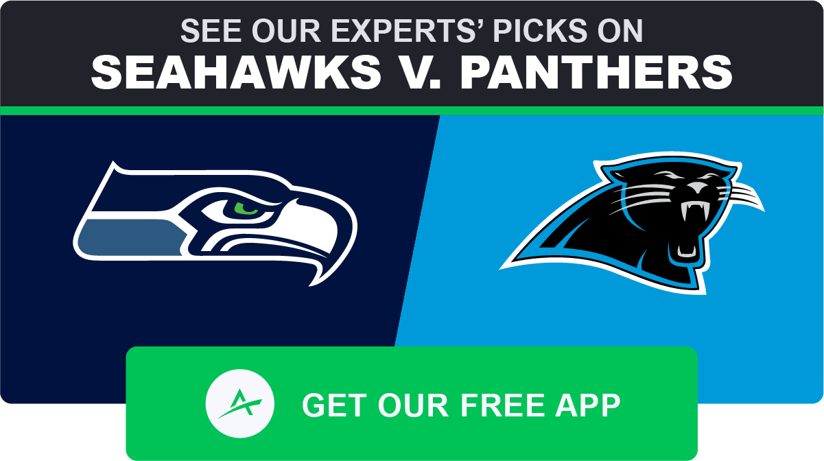 betting line seahawks panthers spread
