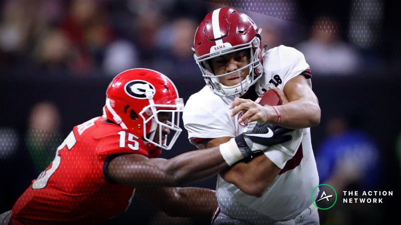 SEC Championship Game Betting Odds: Opening Spread for Georgia-Alabama article feature image
