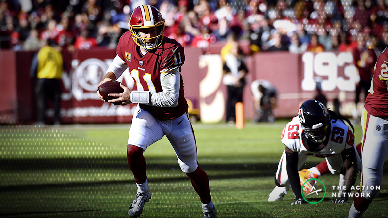 Redskins-Bucs Betting Preview: Will Alex Smith Keep Pace With Tampa? article feature image