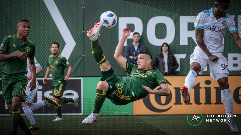 2018 MLS Cup Playoffs: Bettors Confident That Seattle Will Beat Portland article feature image