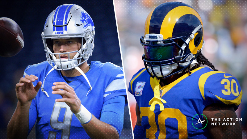 Rams-Lions Betting Preview: Does LA Deserve to Be This Week's Most Popular Bet? article feature image