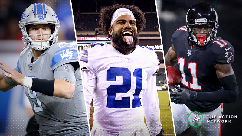 Thanksgiving NFL Betting Guide: Tips, Picks for Bears-Lions, Redskins-Cowboys, Falcons-Saints article feature image