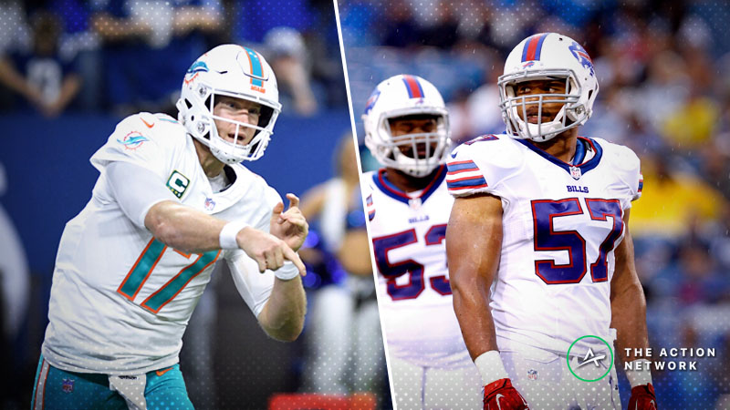 Bills-Dolphins Betting Preview: Can You Count on Buffalo's Defense to Get Another Win? article feature image