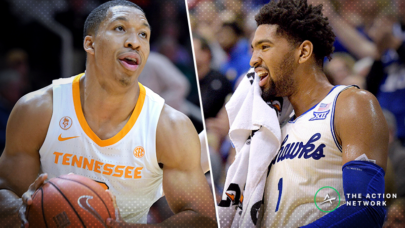 Tennessee-Kansas Betting Preview: Will Another Top-2 Team Go Down? article feature image