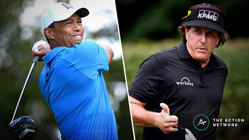 Tiger vs. Phil Expert Picks: How to Bet 'The Match' article feature image