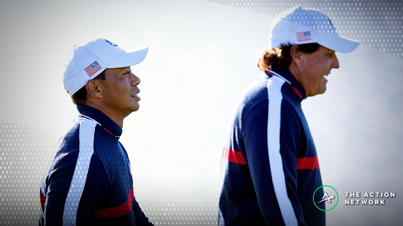 Sobel: Golf's Gambling Gold Rush Is Coming and Tiger vs. Phil Will Give Peek into Future article feature image