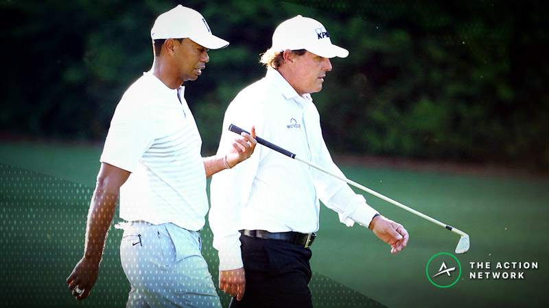Sobel: The Side Action Bets Tiger and Phil Should Make in 'The Match' article feature image