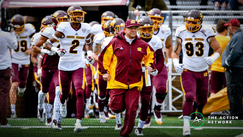 Toledo-Central Michigan Under Bettors Hosed by Tough Final Few Minutes article feature image