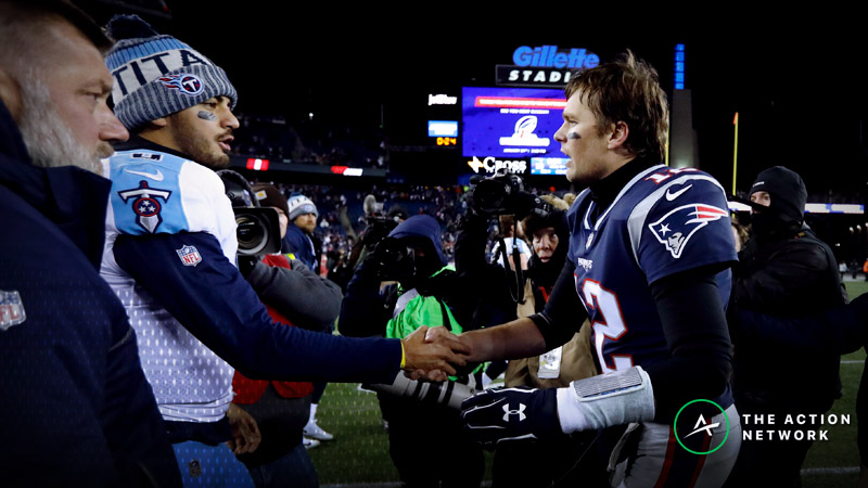 Patriots-Titans Betting Preview: Will Brady Dominate Another Playoff Rematch? article feature image