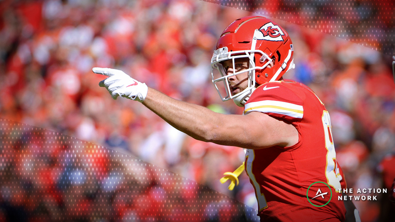 NFL Week 9 Fantasy TE Breakdown: Travis Kelce Will Dominate the Browns article feature image