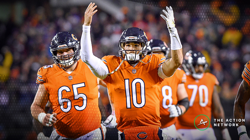 Mitchell Trubisky Injury Having Little Effect on Bears-Lions Betting Odds –  Read now e71de7153