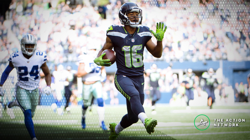 NFL Week 10 Fantasy Football Start or Sit: Tyler Lockett Deserves to Start article feature image