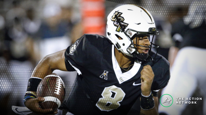 UCF-Memphis Betting Guide: How to Handicap the Knights Without McKenzie Milton article feature image
