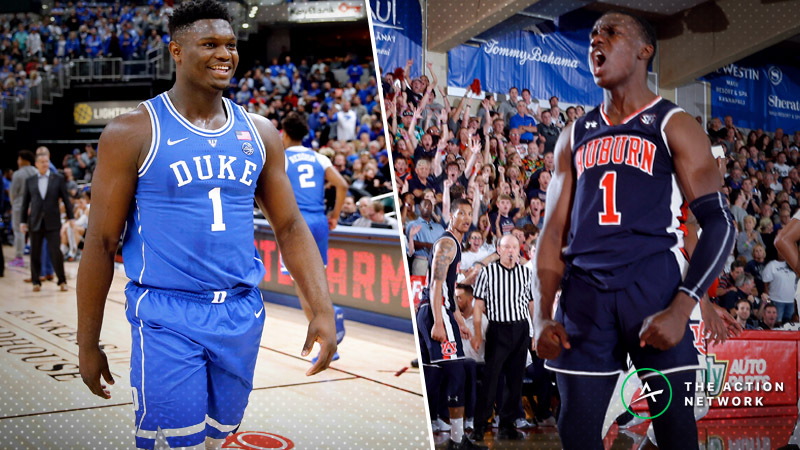 Auburn-Duke Betting Preview: Can Tigers Hang With Zion Williamson & Co.? article feature image