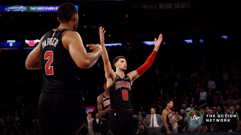 Wednesday's Best NBA Player Props: Betting Zach LaVine Points, More article feature image