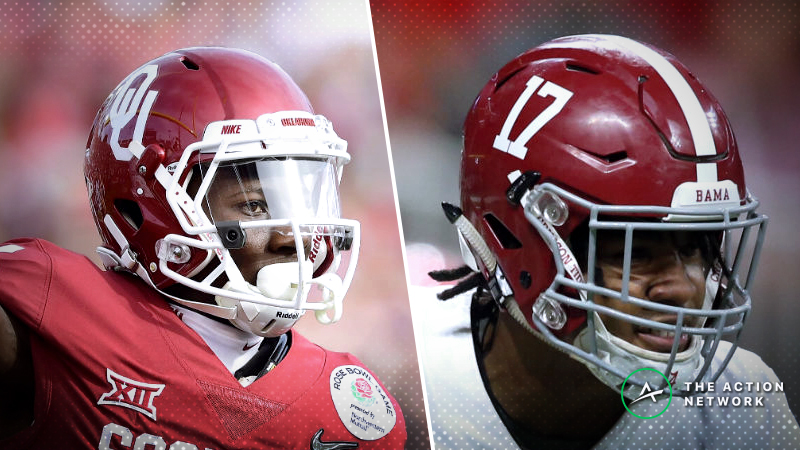 Alabama-Oklahoma Betting Odds: Tracking Line Moves in 2018 College Football Playoff article feature image