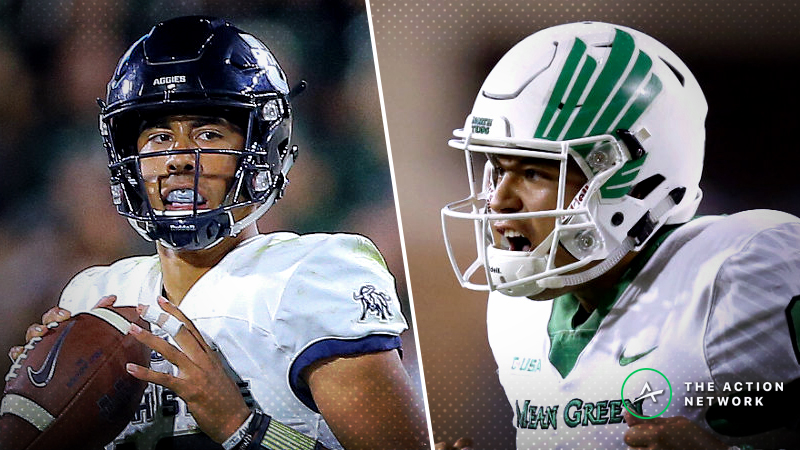 Utah State-North Texas Betting Guide: Aggies Staff Depleted for 2018 New Mexico Bowl article feature image