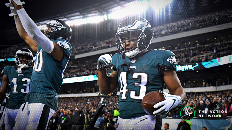 NFL Bad Beats, Week 14: Eagles, Cowboys Score Late TDs to Burn Under Bettors article feature image