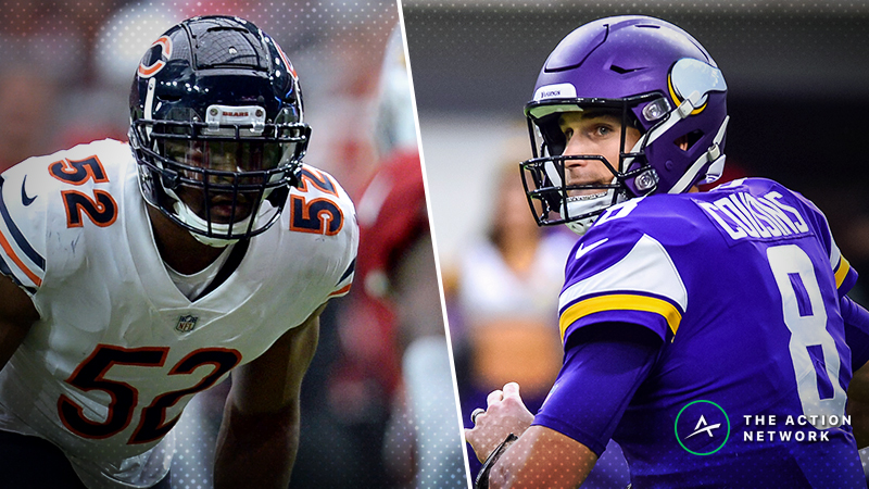 Bears-Vikings Betting Preview: Can You Trust Kirk Cousins in a Big Spot? article feature image